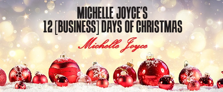 On The Twelfth Day Of Christmas.On The Twelfth Day Of Christmas We Present Michelle Joyce