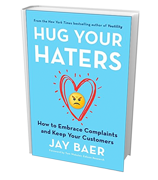 Jay Baer Book Hug Your Haters