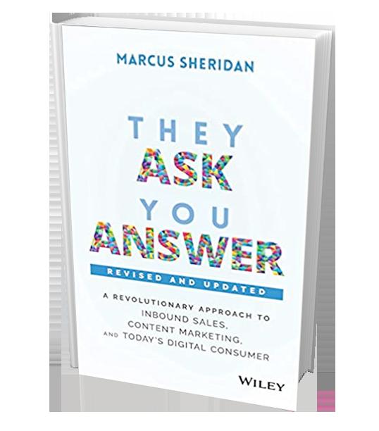 Marcus Sheridan Book
